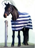 Horseware Rambo Deluxe Fleece Whitney Stripe Navy