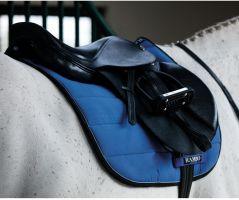 Horseware Rambo Everyday Show Jumping Saddle Pad Royal Blue Black Silver