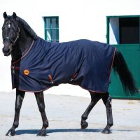 Horseware Rambo Ionic Therapy Fleece Rug Black/Orange