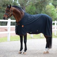 Horseware Rambo Ionic Therapy Stable Sheet Black/Orange