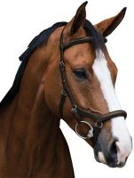 Horseware Rambo Micklem Deluxe Competition Bridle Dark Brown