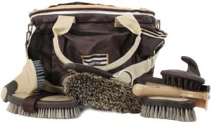Horseware Rambo Newmarket Grooming Kit Chocolate