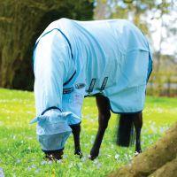 Horseware Rambo Pony Sweet Itch Hoody Vamoose Baby Blue/Navy