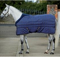 Horseware Rhino Original 400g Heavyweight Standard Neck Stable Rug Navy/Cream