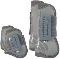 Horze Advanced ProTec Boot Set Steel Grey