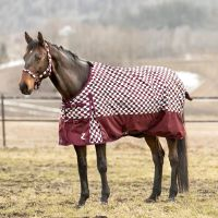 Horze Nevada 200G Medium Weight Standard Neck Turnout Rug Port Royal/Delphinium Blue