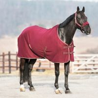 Horze Standard Neck Fleece Rug Port Royal/Silver