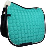 HV Polo Julia Dressage Pad Blue Turquoise