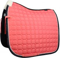 HV Polo Julia Dressage Pad Bright Coral