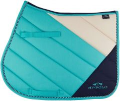 HV Polo Ruby Dressage Pad Blue Turquoise