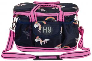 Hy Unicorn Grooming Bag Navy/Pink