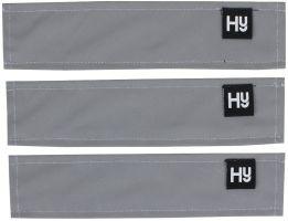 HyVIS Silva Mercury Bridle Set Silver