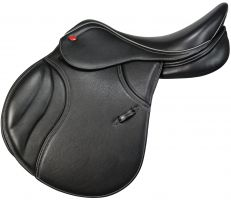 John Whitaker Overton Jump Saddle Black