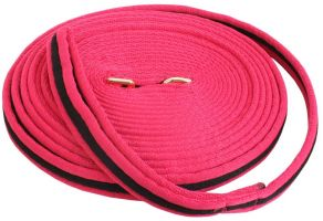 Kincade Brights Two Tone Padded Lunge Line Hot Pink/Black