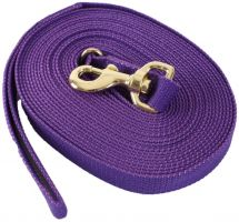 Kincade Cotton Lunge Line Purple