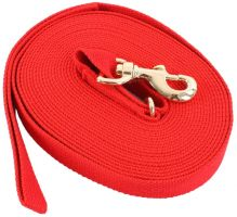Kincade Cotton Lunge Line Red