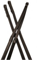 Kincade One sided Rubber Reins Brown