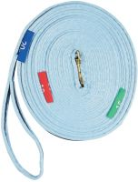 Kincade Two Tone Lunge Rein With Circles Markers Blue/Navy