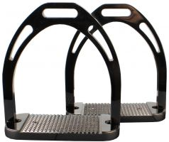 Korsteel Aluminium Stirrups Black