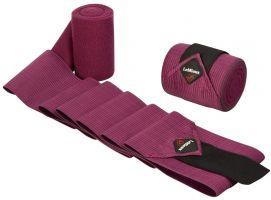LeMieux Combi Bandages 2 Pack Plum