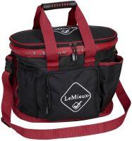 LeMieux Grooming Bag Black/Red