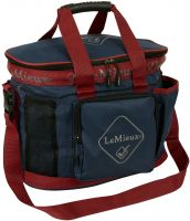 LeMieux Grooming Bag Navy/Red