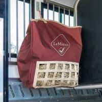 LeMieux Hay Tidy Bag Burgundy