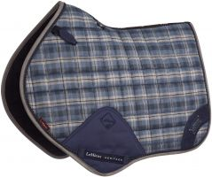 LeMieux Heritage Close Contact Jumping Square Saddle Pad Navy