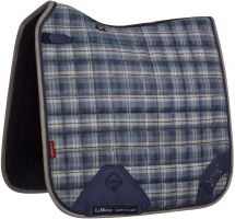 LeMieux Heritage Dressage Square Saddle Pad Navy