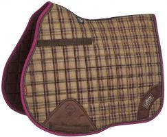 LeMieux Heritage General Purpose Square Saddle Pad Plum