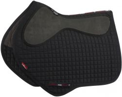 LeMieux LeGrip Close Contact Square Saddle Pad Black
