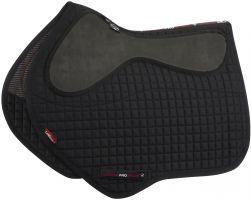 LeMieux LeGrip Close Contact Square Saddle Pad Black