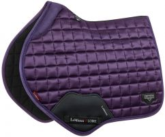 LeMieux Loire Close Contact Square Saddle Pad Blackcurrant