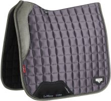 LeMieux Loire Dressage Square Saddle Pad Grey