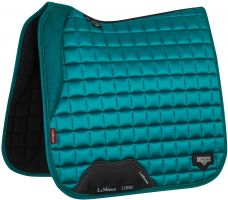 LeMieux Loire Dressage Square Saddle Pad Peacock