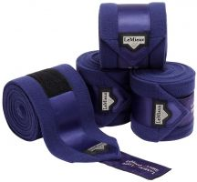 LeMieux Loire Satin Polo Bandages Ink Blue