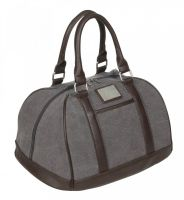 LeMieux Luxury Canvas Hat Bag Grey