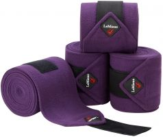 LeMieux Luxury Polo Bandages Blackcurrent