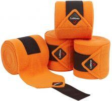 LeMieux Luxury Polo Bandages Tangerine