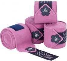 LeMieux Mini Bandages Lavender/Navy