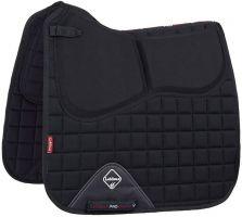 LeMieux Plain Pro-Sorb System Dressage Square Saddle Pad Black