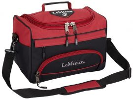 LeMieux ProKit Lite Grooming Bag Black/Burgundy