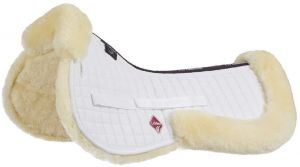 LeMieux ProLambskin Pro-Sorb System Half Pad Natural/White