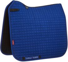 LeMieux ProSport Classic Dressage Square Saddle Pad Benetton Blue/Navy