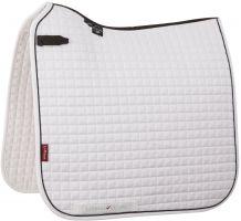 LeMieux ProSport Classic Dressage Square Saddle Pad White/Black