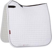 LeMieux ProSport Classic Dressage Square Saddle Pad White/Grey