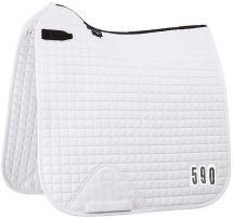 LeMieux ProSport Cotton Competition Dressage Square Saddle Pad White