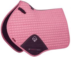 LeMieux ProSport Suede Close Contact Square Saddle Pad Blush Pink