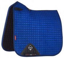 LeMieux ProSport Suede Dressage Square Saddle Pad Benetton Blue