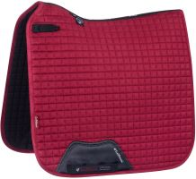 LeMieux ProSport Suede Dressage Square Saddle Pad Mulberry